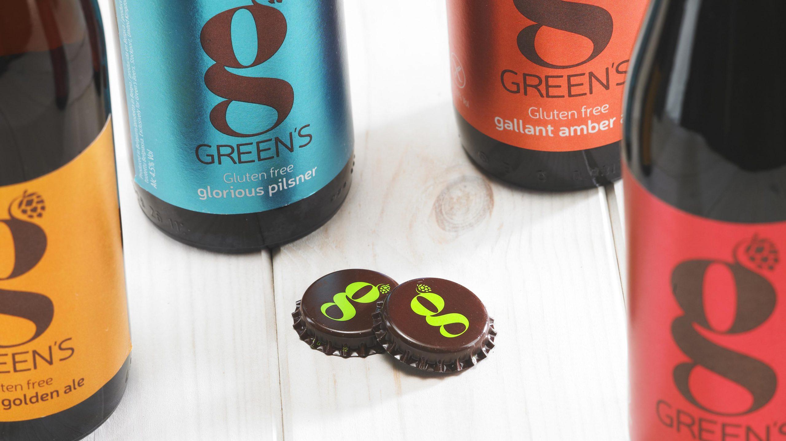 Green's Bottle Tops
