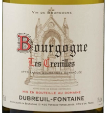 "Bourgogne Chardonnay ""Les Crenilles"""